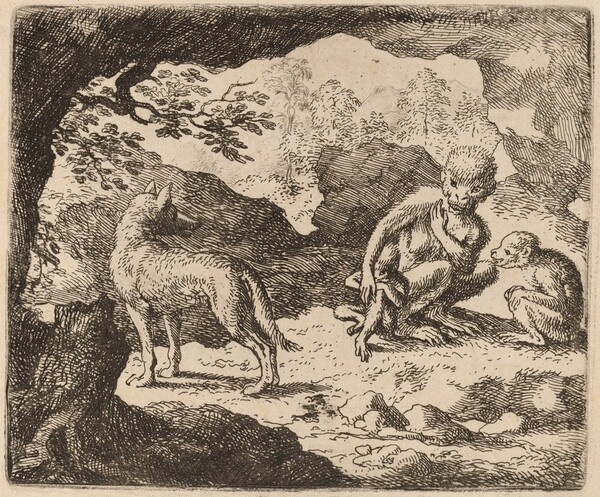 The Wolf and the Monkeys