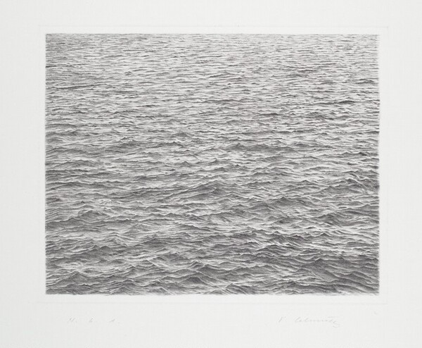 Drypoint—Ocean Surface