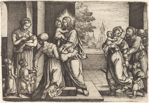 Christ Surrounded by Children