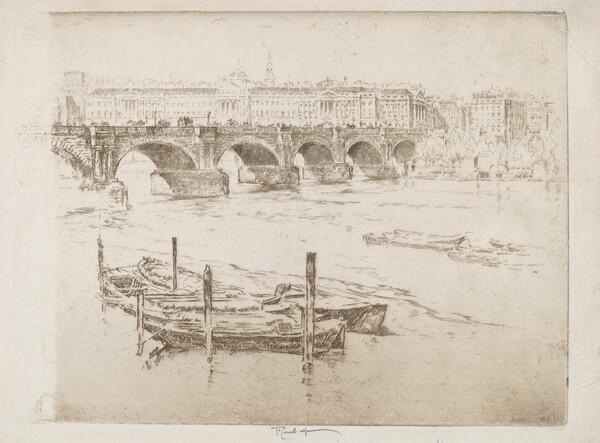 Waterloo Bridge and Somerset House