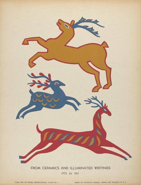 Plate 3: From Portfolio Folk Art of Rural Pennsylvania