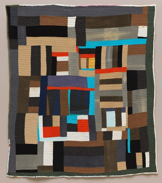 <p>Mary Lee Bendolph, Blocks and Strips, 2002