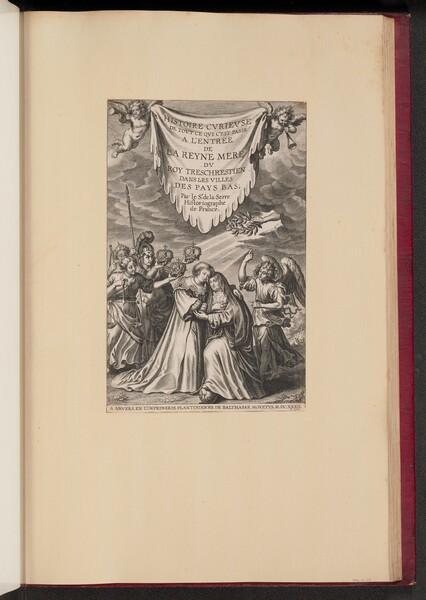 Title Page for Histoire Cvrievse de Tovt Ce Qui C