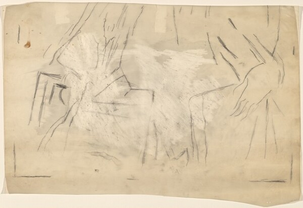 Study for Untitled (Mrs. Marin) [lower half]