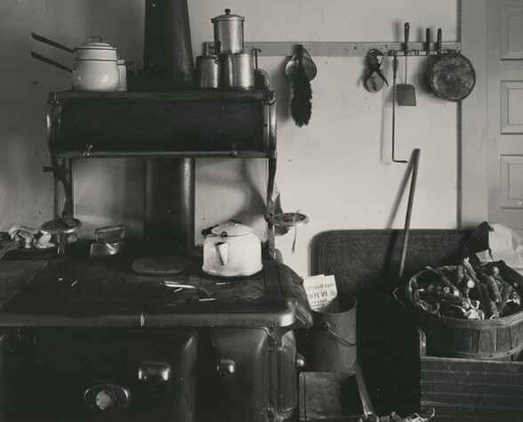 Interior with Stove, Ed