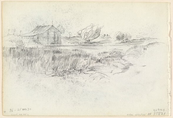 Shack in the Meadowlands (verso)
