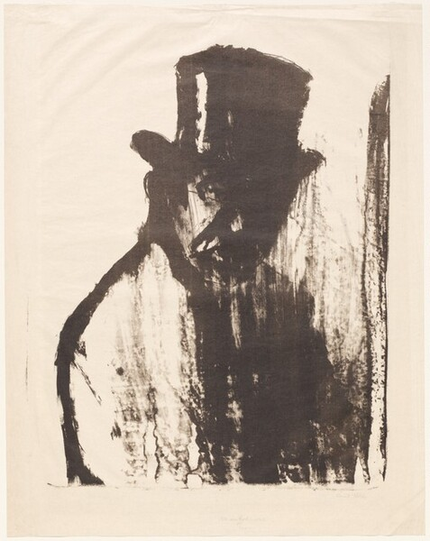 Gentleman in a Top Hat (Dr Gustav Schiefler)