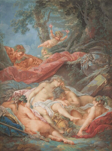 Sleeping Bacchantes