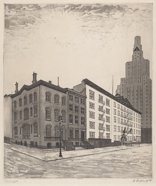 Untitled (Lower Fifth Avenue)