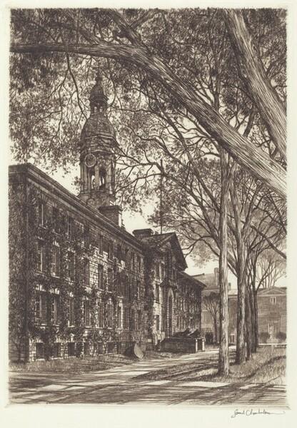 Old Nassau Hall, Princeton