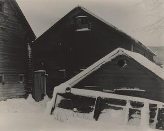 image: Barn & Snow
