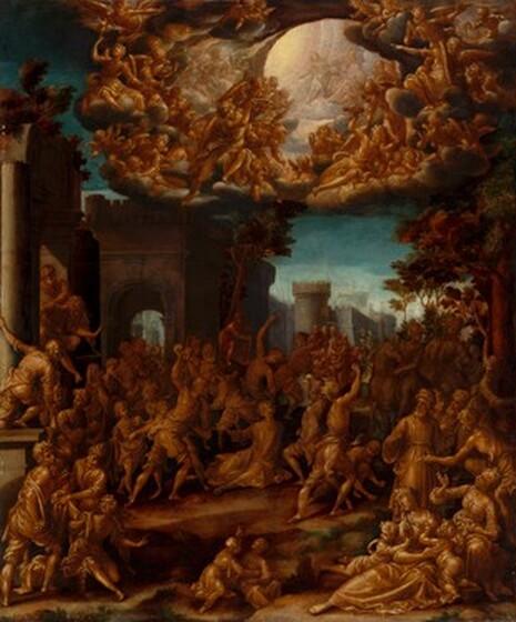Aurelio Lomi, The Stoning of Saint Stephen, c. 1602c. 1602