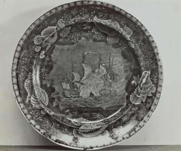 Plate - Naval Battle