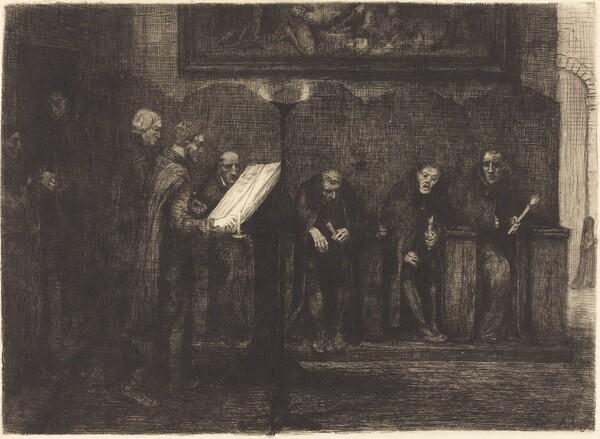 Spanish Singers (Les chantres espagnols)