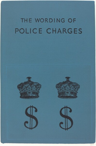 The Wording of Police Charges