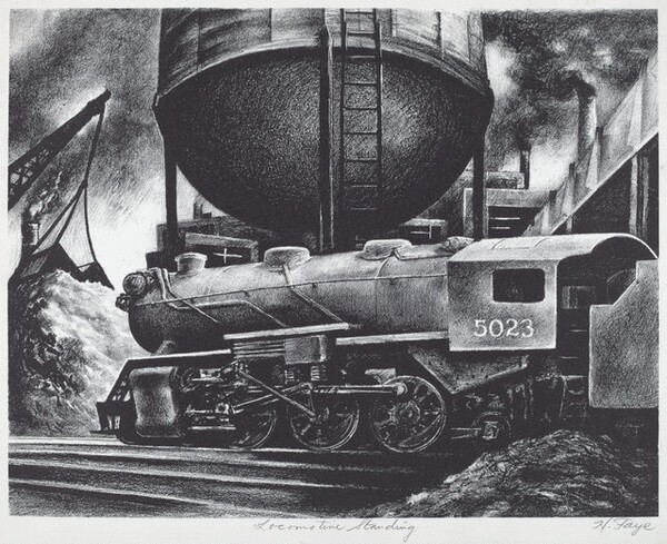 Locomotive Standing