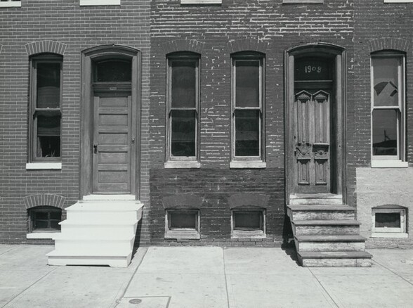 Steps, Painted and Unpainted, Baltimore, Maryland