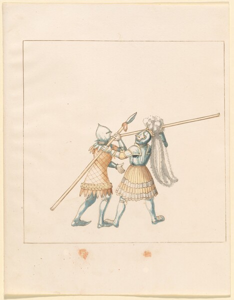 Freydal, The Book of Jousts and Tournament of Emperor Maximilian I: Combats on Foot (Jousts)(Volume III): Plate 150