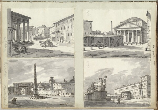 Roman Album No. 4: Italian Landscapes and Antiquities