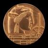 Fiftieth Anniversary Medal of Medallic Art Company [obverse]