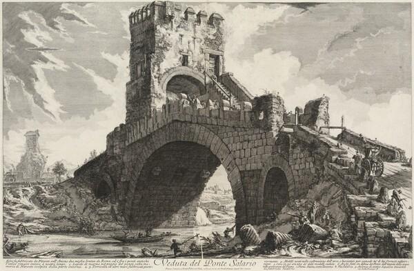 Veduta del Ponte Salario