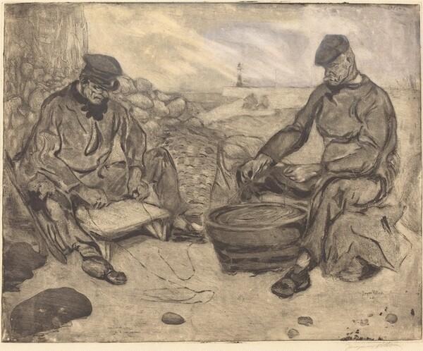 The Fishermen (Les pêcheurs)