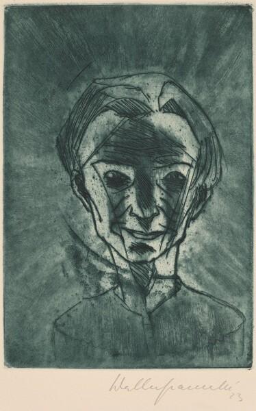 Smiling Head, Self-portrait (Lächelnder Kopf, Selbstporträt)