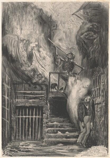 Rue de la Vieille lanterne [The Suicide of Gérard de Nerval]
