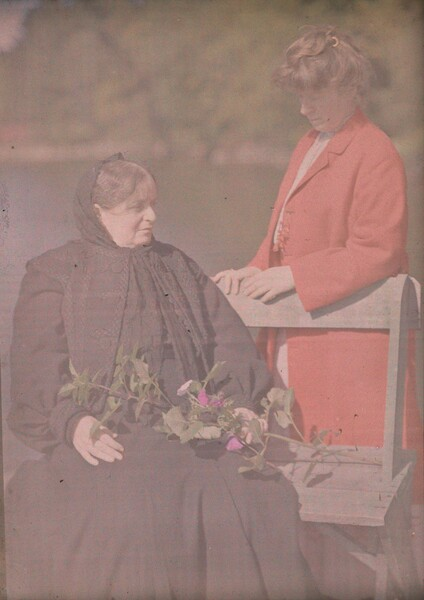 Hedwig Stieglitz and Agnes Engelhard