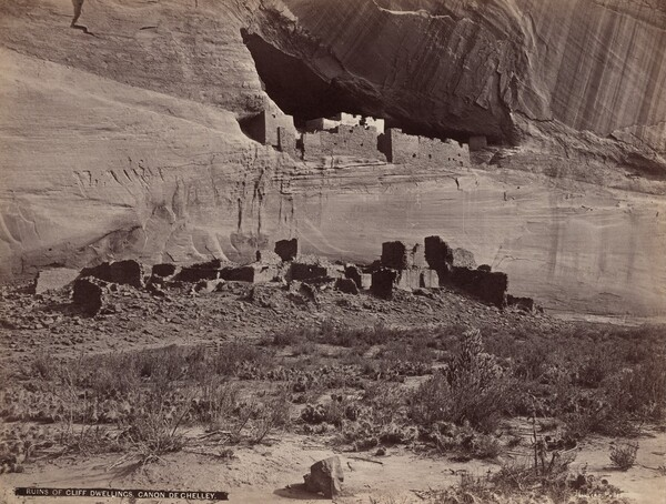 Ruins of Cliff Dwellings, Canyon de Chelly