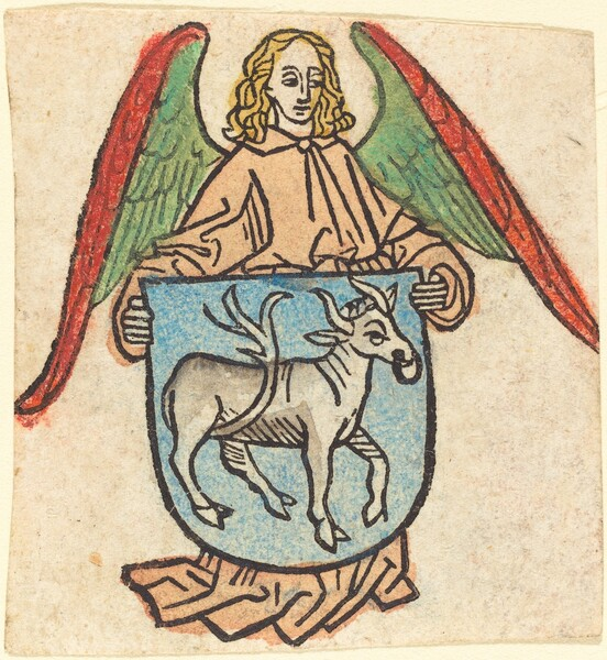 Bookplate of Hilprand Brandenburg of Bibrach