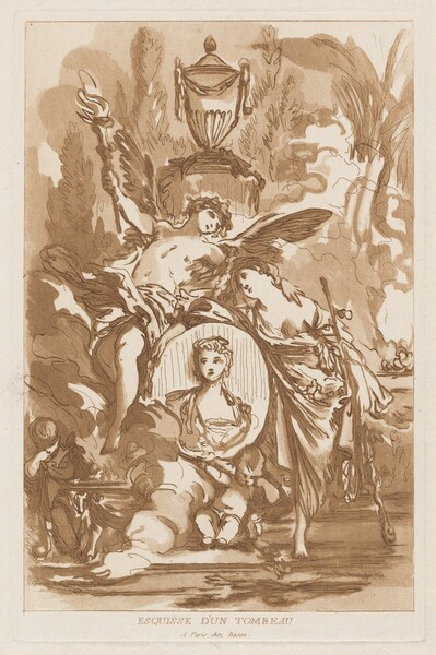 Esquisse d'un tombeau (Sketch for a Tomb)