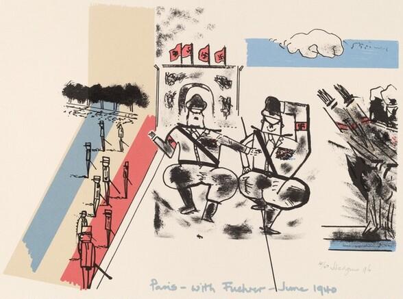 Paris - with Fuehrer - June 1940, from Ubu centenaire: Histoire d