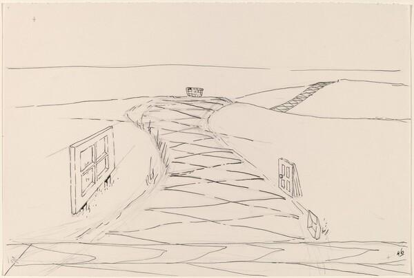 Basket, Table, Door, Window, Mirror, Rug #47
