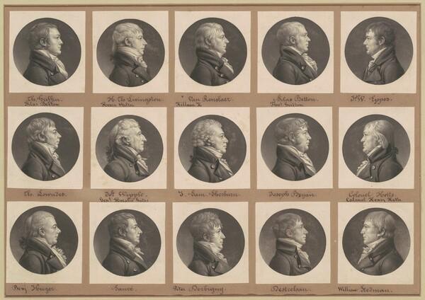 Saint-Mémin Collection of Portraits, Group 32