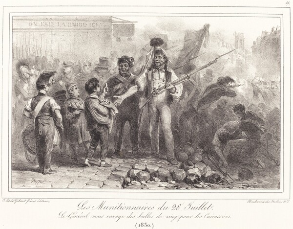 Les Munitionaires du 28 Juillet