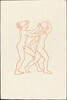 Second Book: Daphnis and Chloe Playing (Daphnis poursuivant Chloe)