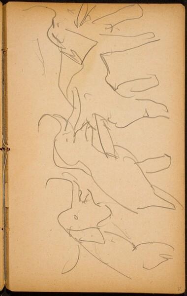 Zirkusnummer mit Elefanten (Three Elephants in a Circus Act) [p. 35]