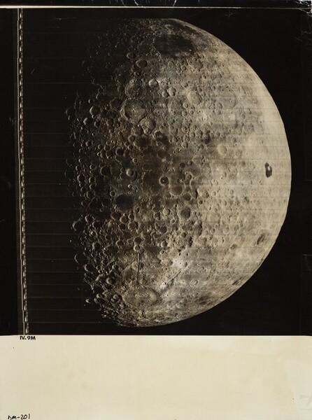 Lunar Orbiter, Medium Resolution, LOIV M-009