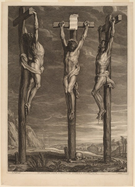 Christ Crucified between Two Thieves