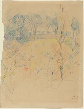 Berthe Morisot, Spring Landscape, c. 1890/1891c. 1890/1891
