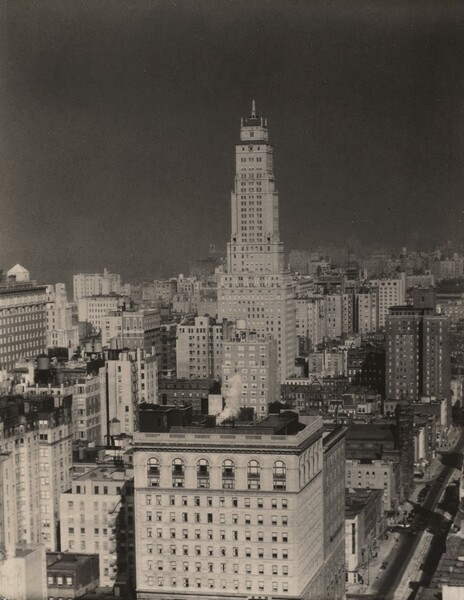 Looking North from Room 3003—Shelton Hotel, New York