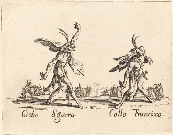 Cicho Sgarra and Collo Francisco