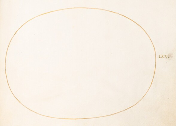 Plate 70: Empty Oval