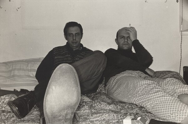 Self-Portrait with Jim Dine