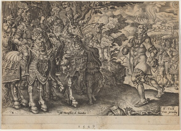 The Surrender of John Frederick, Elector of Saxony, After the Battle of Mühlberg