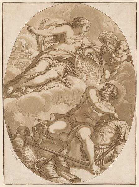 Venus Commanding Vulcan to Make Arms for Aeneas