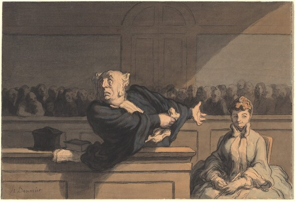 Le Défenseur (Counsel for the Defense)