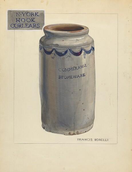 Stoneware Jar