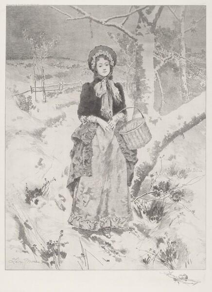 Girl in Peasant Costume